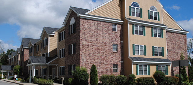 Center Hill Apartments - outside view